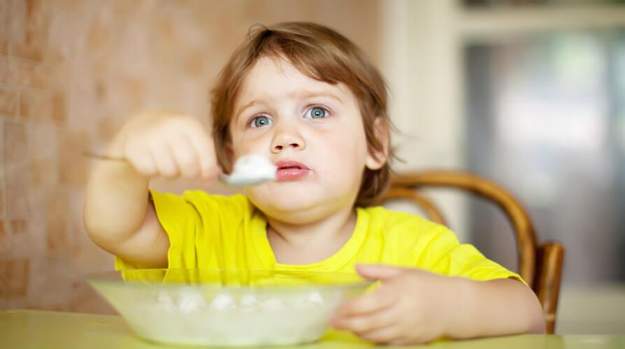 Как привить вкус к еде ребёнку?